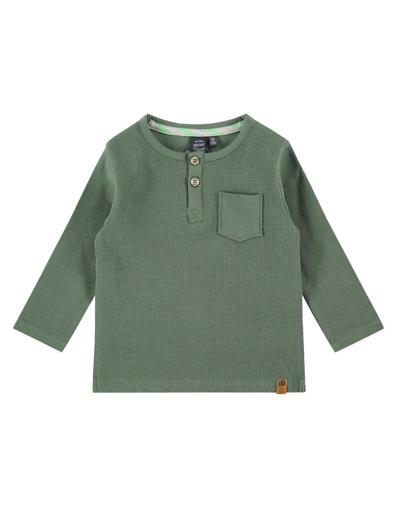 Babyface boys t-shirt long sleeve, army, BBE21107603