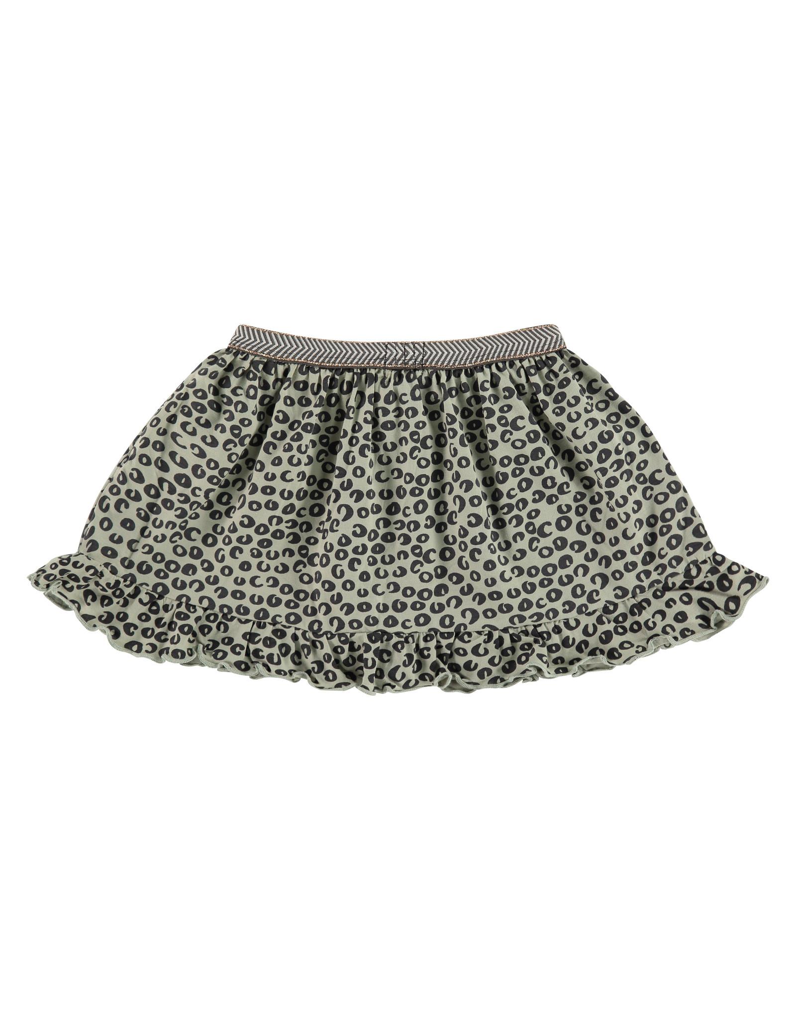Babyface girls skirt, olive, BBE21108801