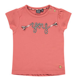 Babyface girls t-shirt short sleeve, faded rose, BBE21108609