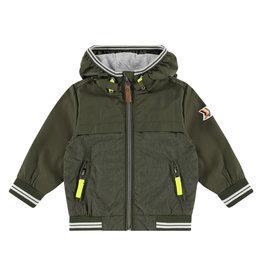 Babyface boys summerjacket, green army, BBE21107105