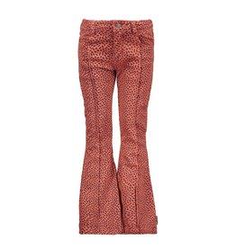 B-Nosy Girls aop mix dots flaired denim pants, Mix Dots