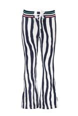 B-Nosy Girls tropic zebra flaired sweat pants, Tropic zebra