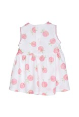 Gymp OVERGOOIER  PINAFORE  PEACH , WIT/MULTI