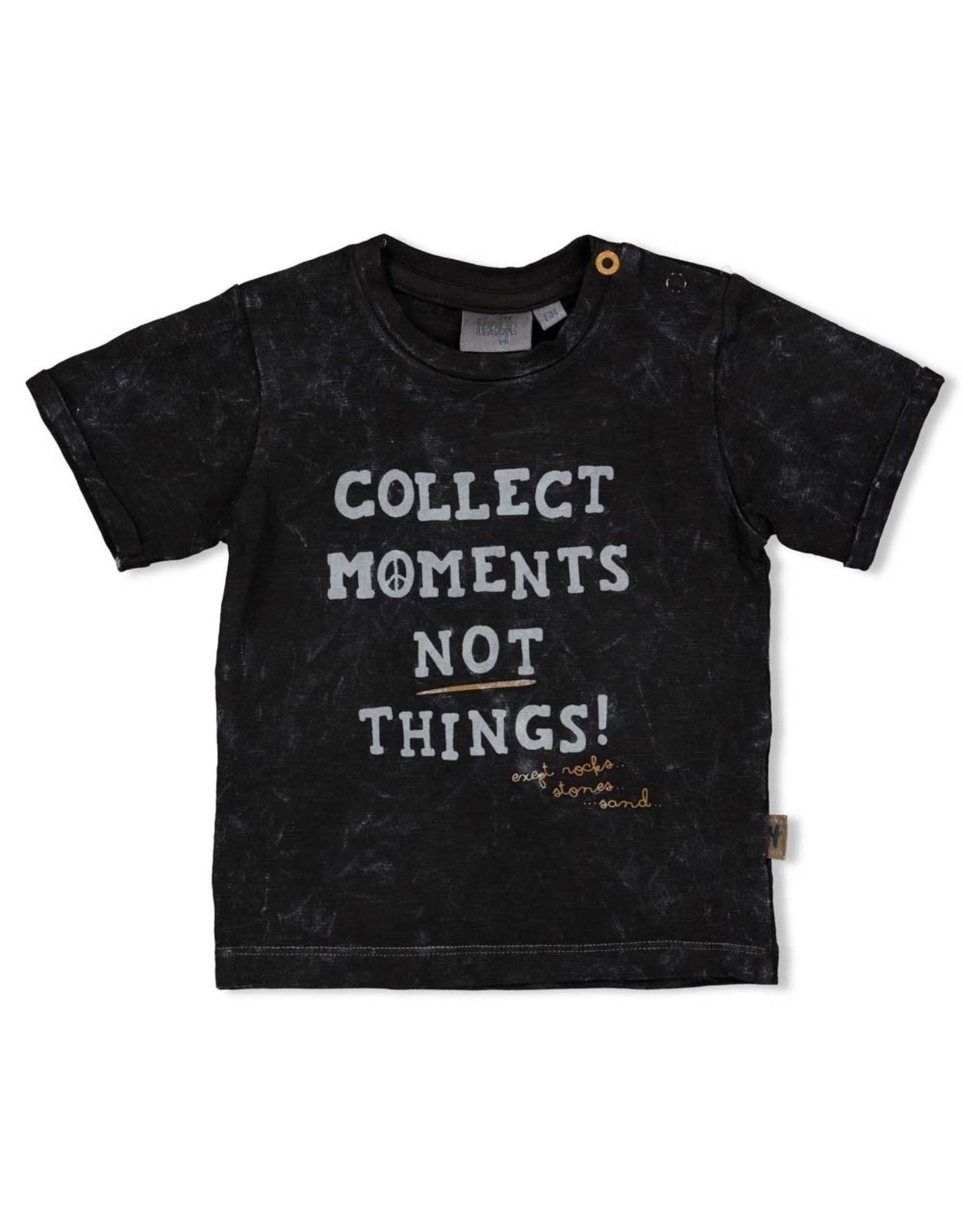 Feetje T-shirt Moments - Looking Sharp. Antraciet