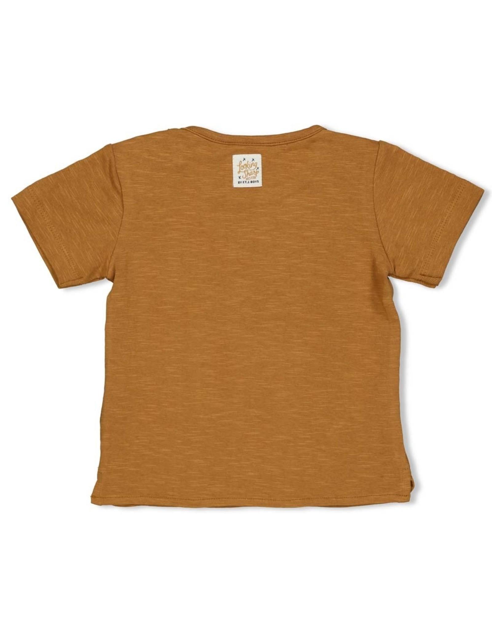Feetje T-shirt Chill On - Looking Sharp. Camel