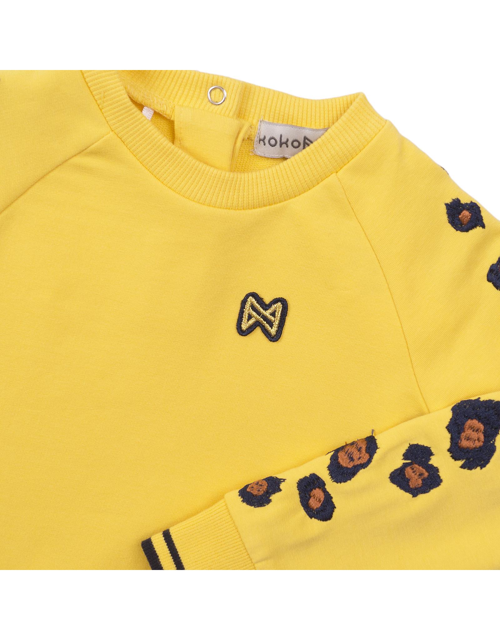 Koko Noko Sweater ls, Yellow, SS21