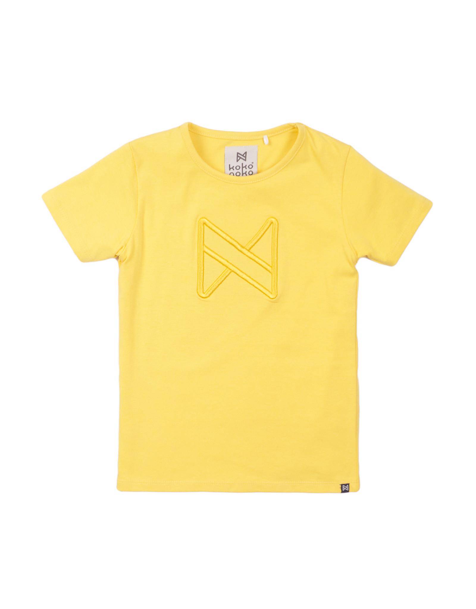 Koko Noko T-shirt ss, Yellow, SS21
