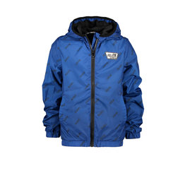 Moodstreet MT jacket AO text, Sporty Blue