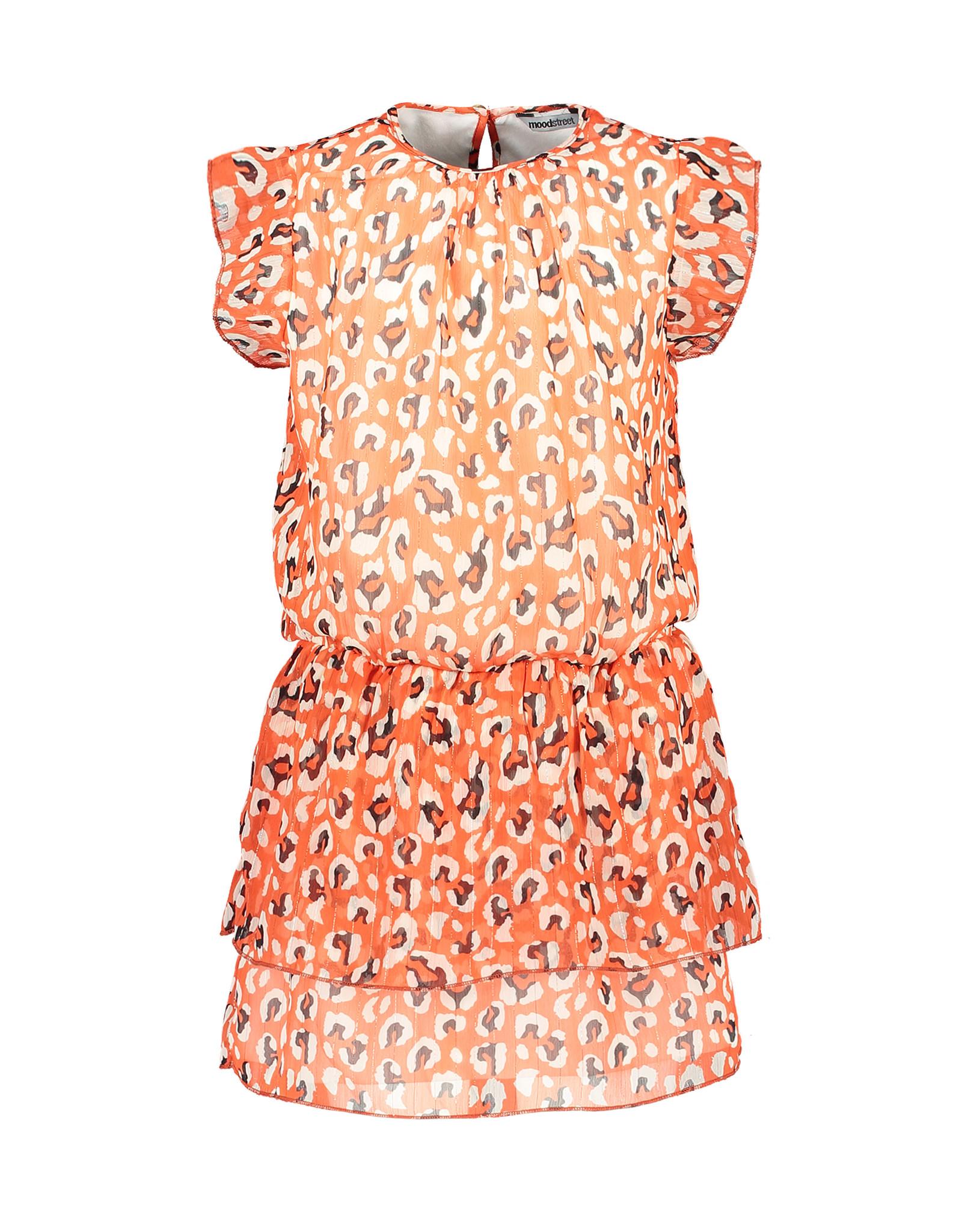 Moodstreet MT AO animal dress, Red