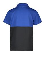 Moodstreet MT fancy polo colorblock, Sporty Blue