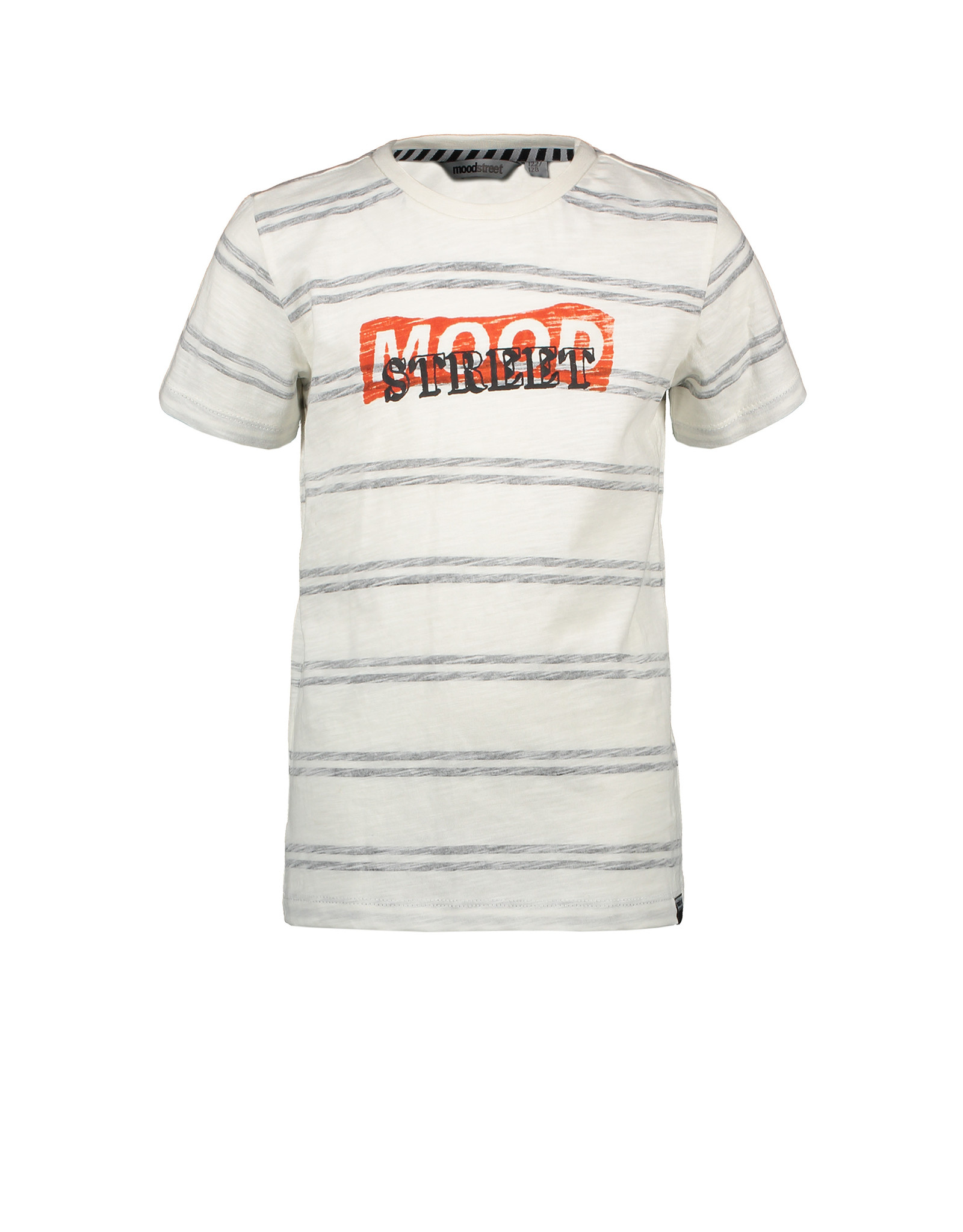 Moodstreet MT striped T-shirt, Off White