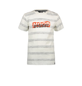 Moodstreet MT striped T-shirt, Off White