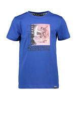 Moodstreet MT fancy t-shirt print, Sporty Blue