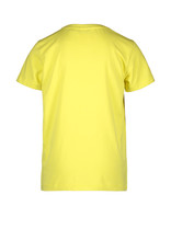 Moodstreet MT t-shirt chestprint, Washed Yellow