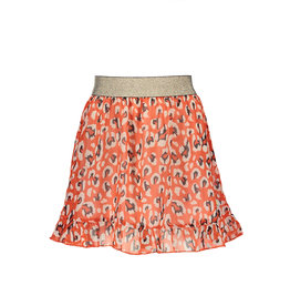 Moodstreet MT AO animal skirt, Red