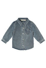 Your Wishes Knitted Denim   Shirt