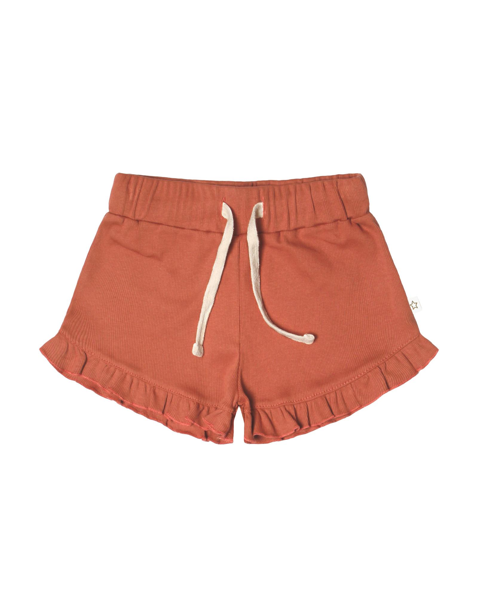 Your Wishes Rib Terra | Ruffle Shorts