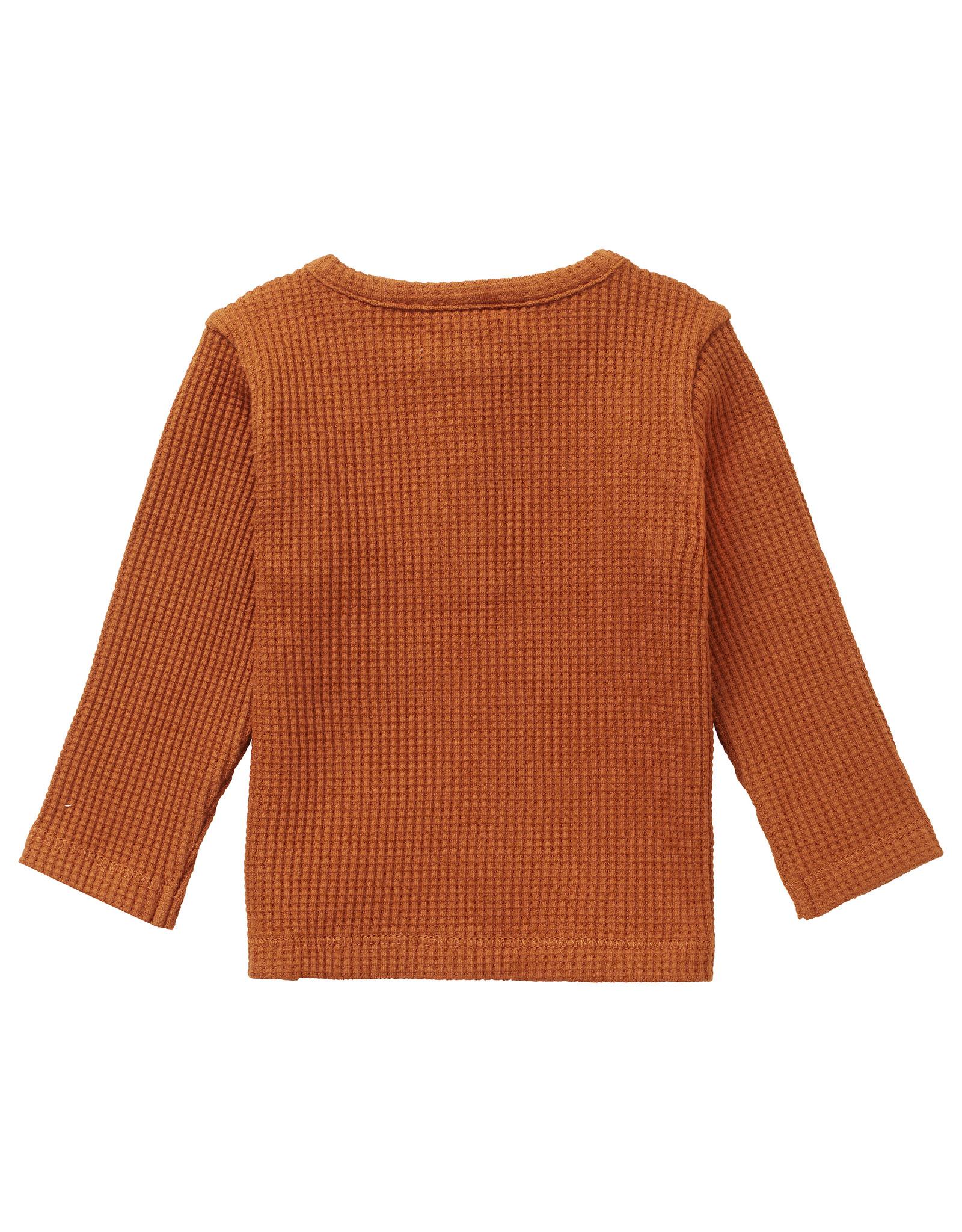 Noppies U T-shirt LS Spilsby, Roasted Pecan