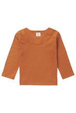 Noppies U T-shirt LS Shields, Roasted Pecan