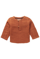 Noppies U blouse LS Swinton, Roasted Pecan