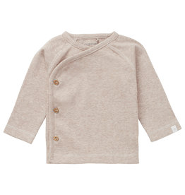 Noppies U T-shirt LS Soham, Sand Melange