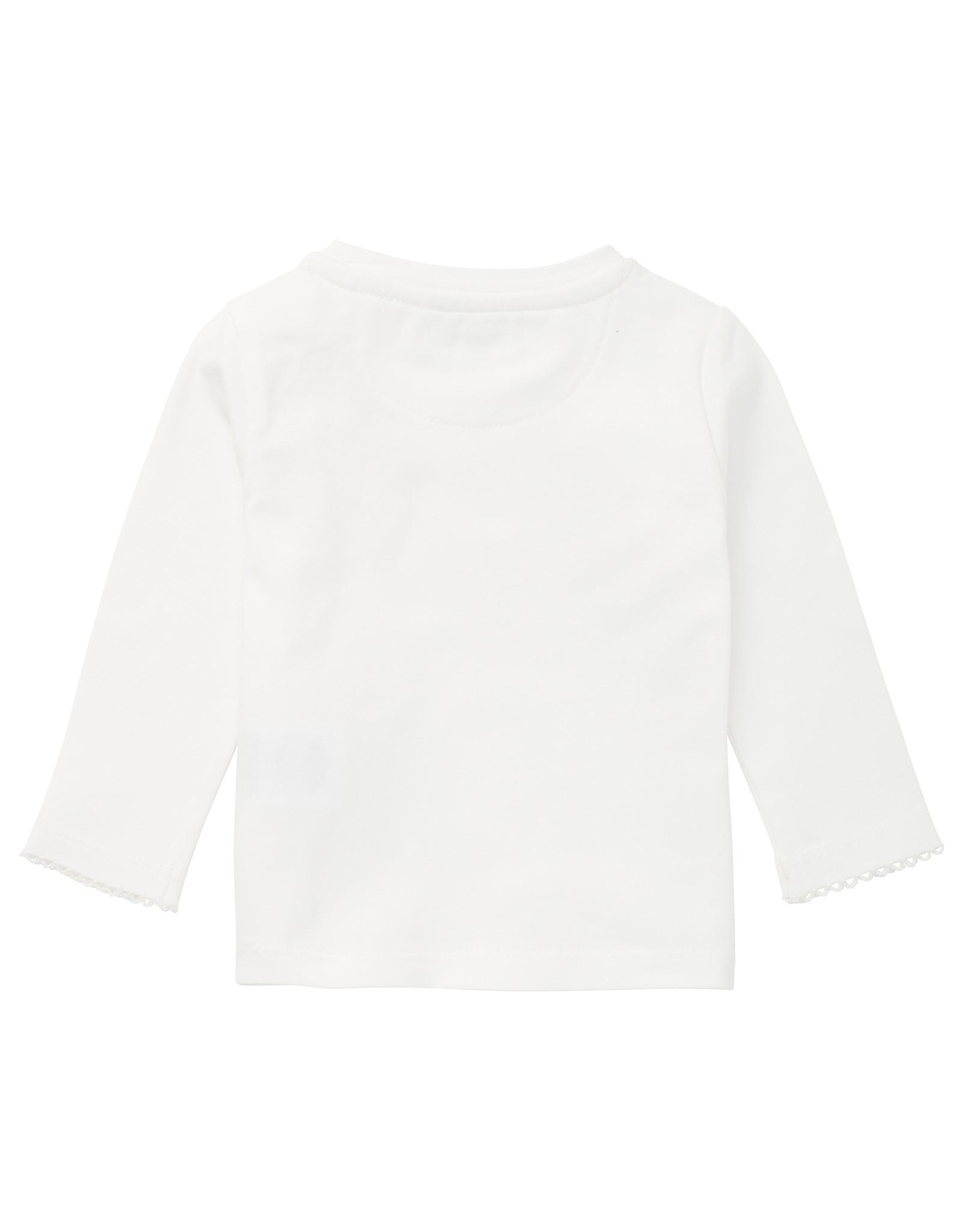 Noppies G T-shirt LS Moosomin, Snow White