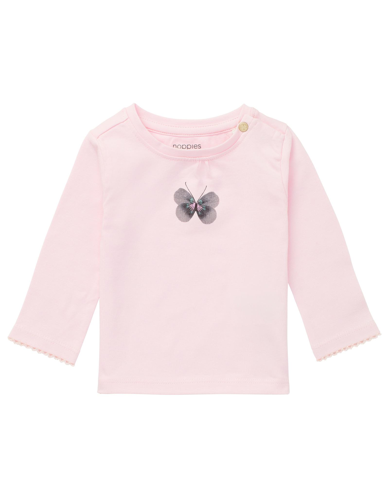Noppies G T-shirt LS Moosomin, Primrose Pink