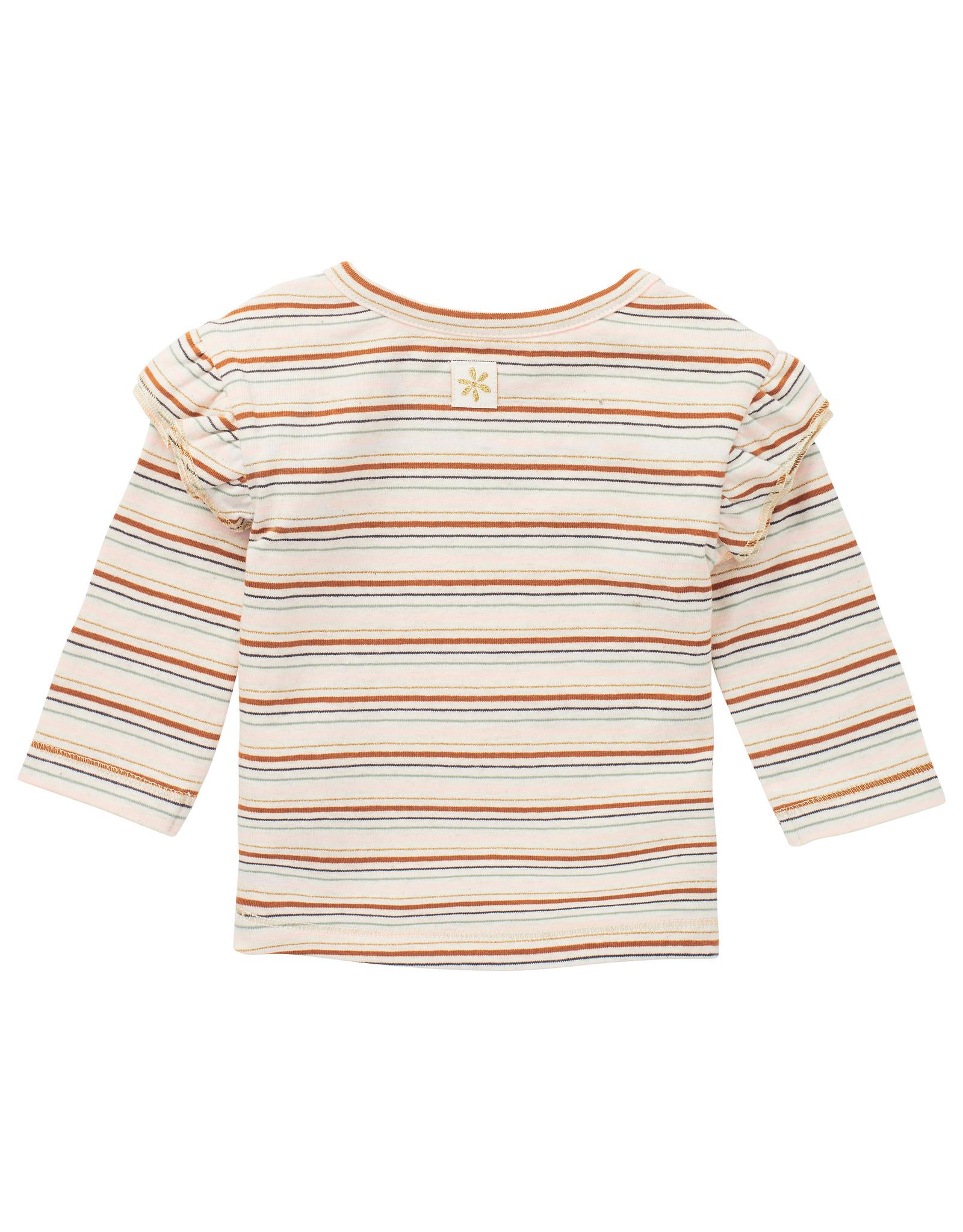 Noppies G T-shirt LS Mercier YD Str, RAS1202 Oatmeal