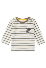 Noppies B T-shirt y/d stripe LS Truro, Gothic Olive