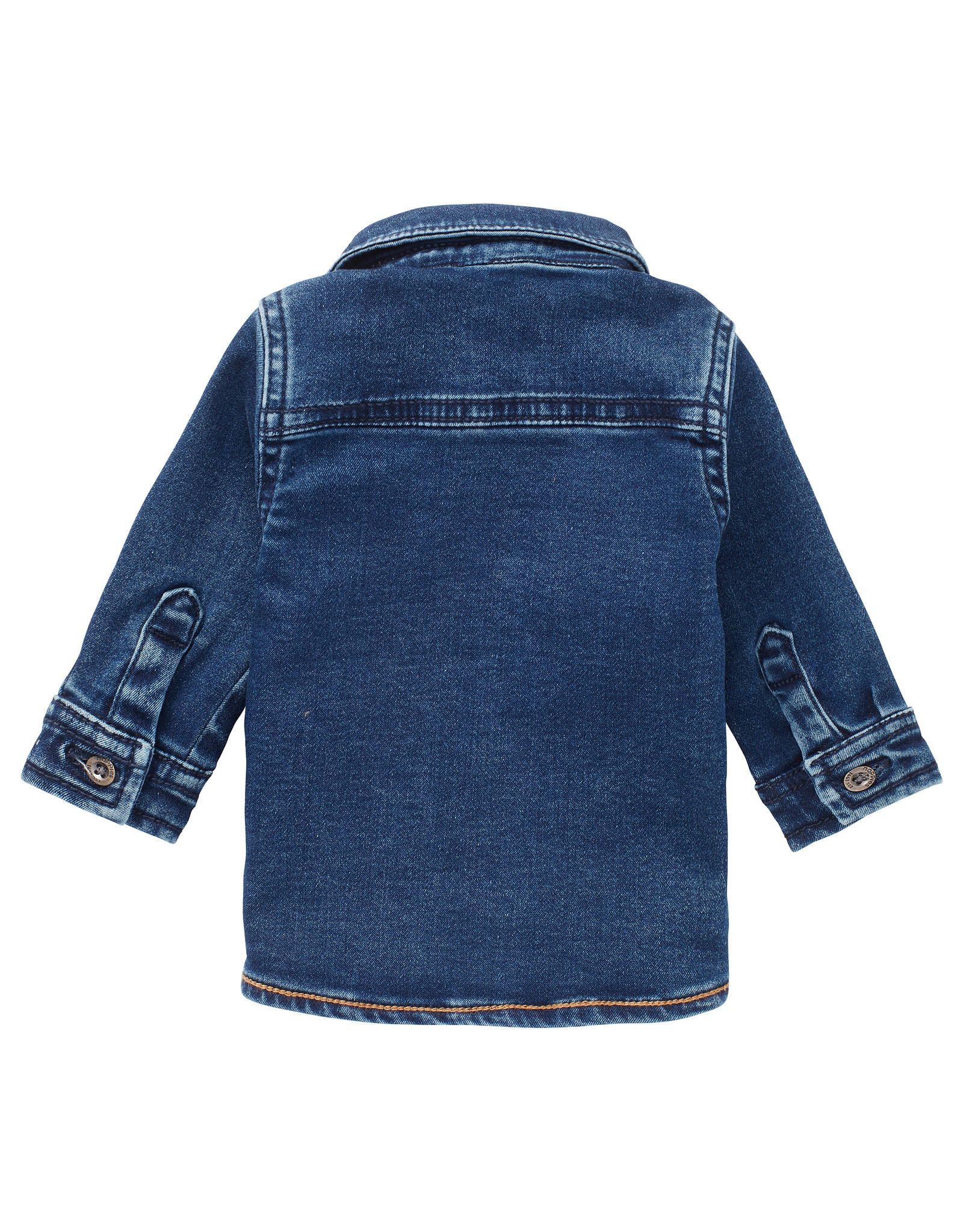 Noppies B shirt LS Tadley jogdenim, Medium Blue Wash