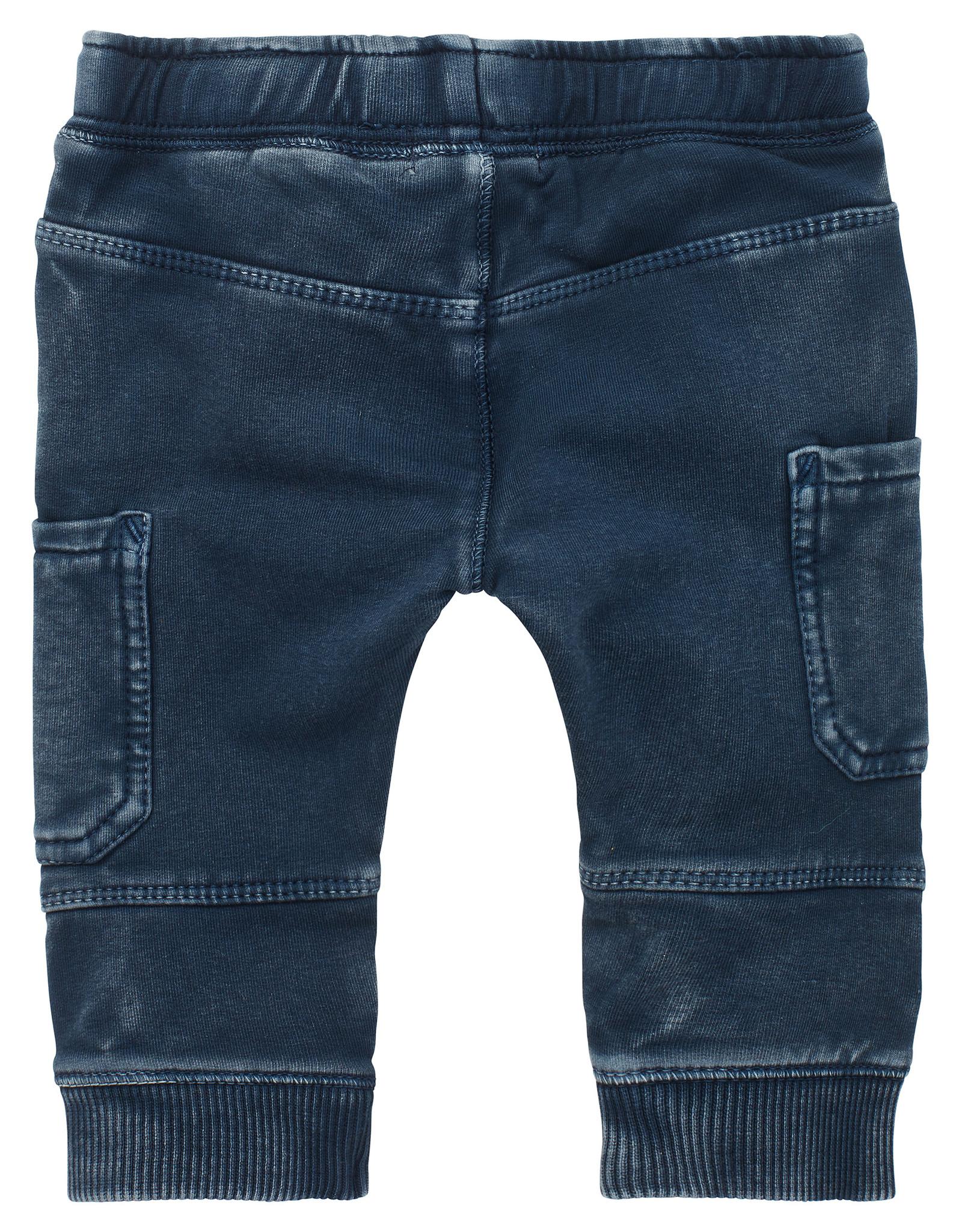 Noppies B Pants regular fit sweat-track Trenton, Dark Sapphire