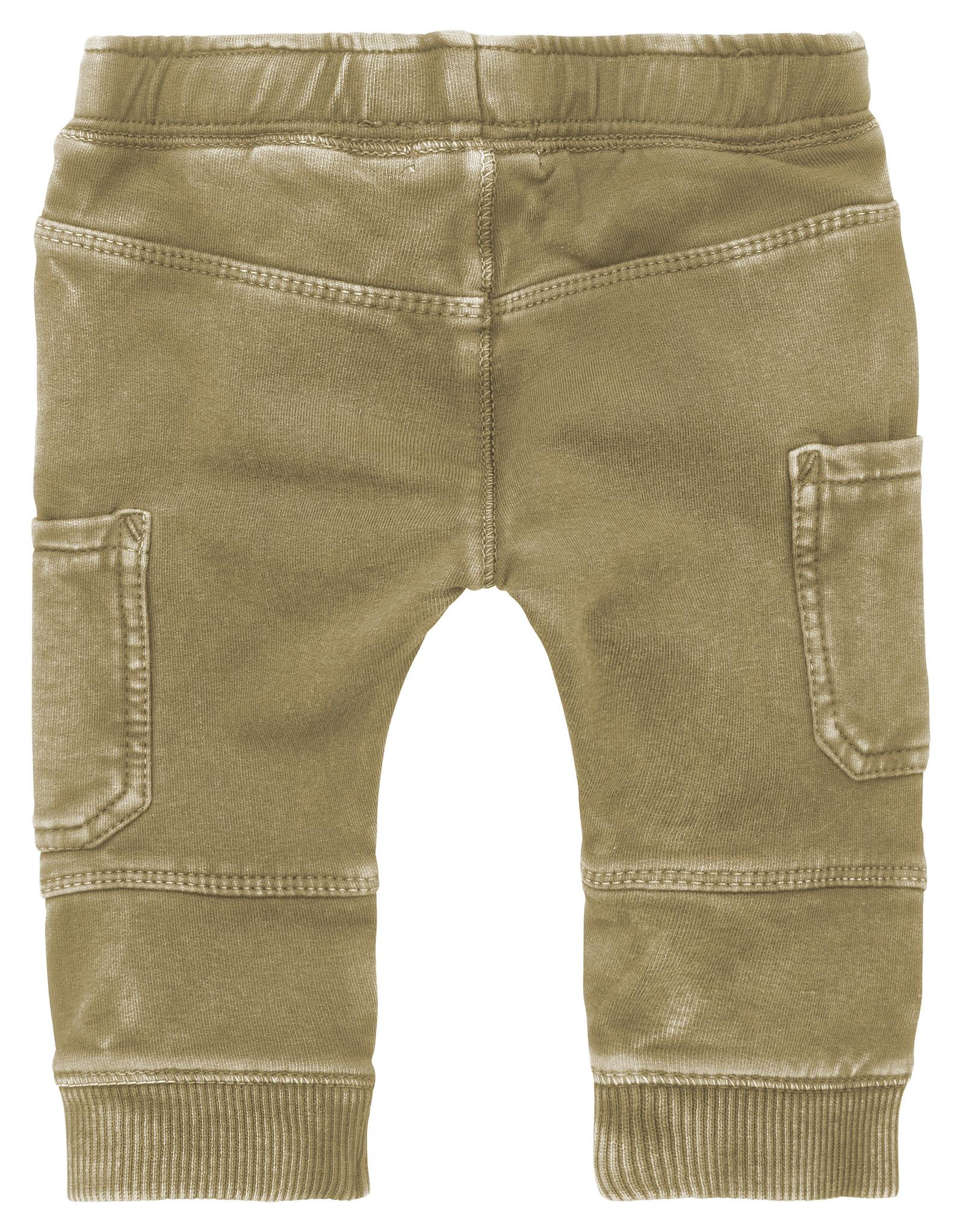 Noppies B Pants regular fit sweat-track Trenton, Gothic Olive
