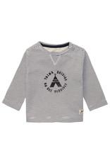 Noppies B T-shirt stripe LS Trente, White Sand