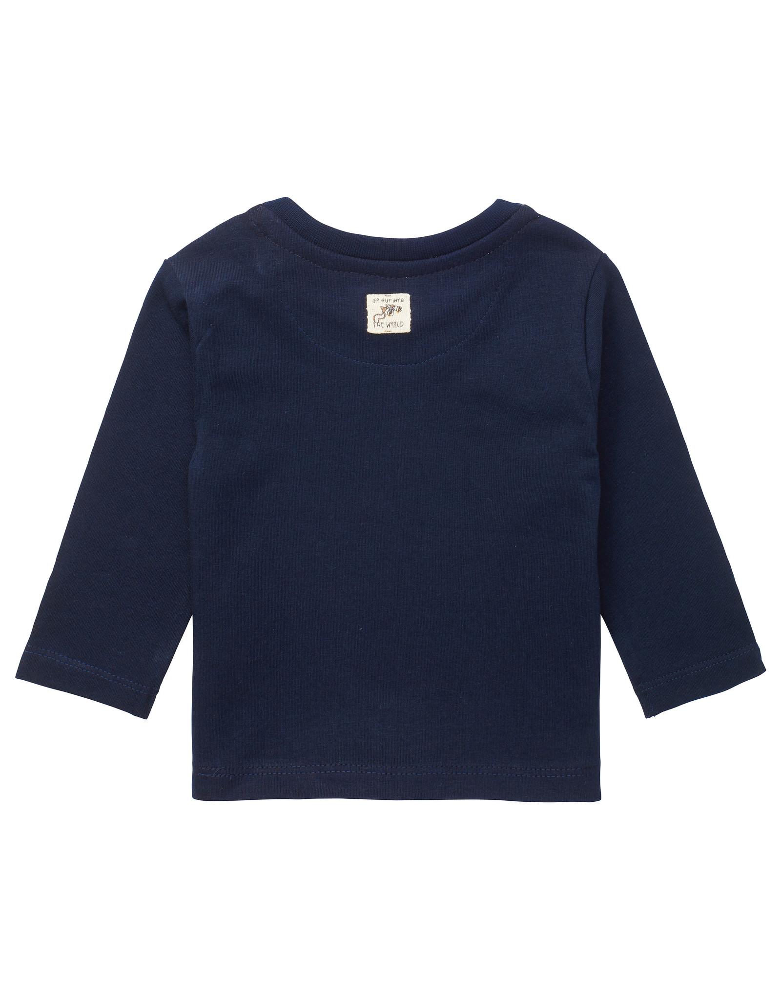 Noppies B T-shirt LS Tring, Dark Sapphire