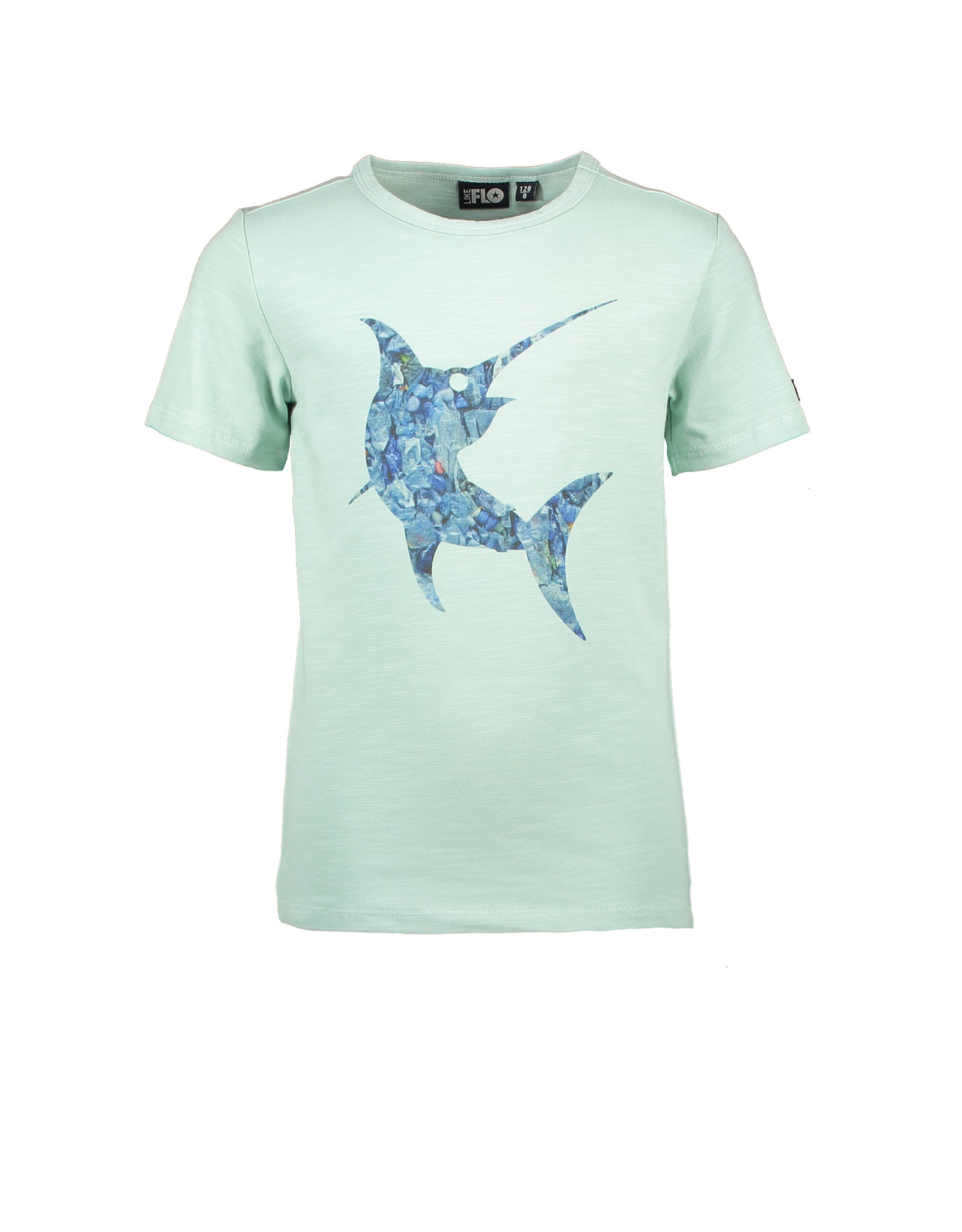 Like Flo Flo boys jersey tee shark, Mint
