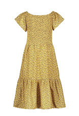 Like Flo Flo girls AO woven smock maxi dress, Panther