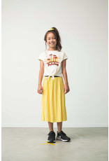 Like Flo Flo girls jersey plisse skirt maxi, Lemon