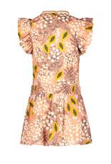 Like Flo Flo girls AO woven dress, Pink papaya