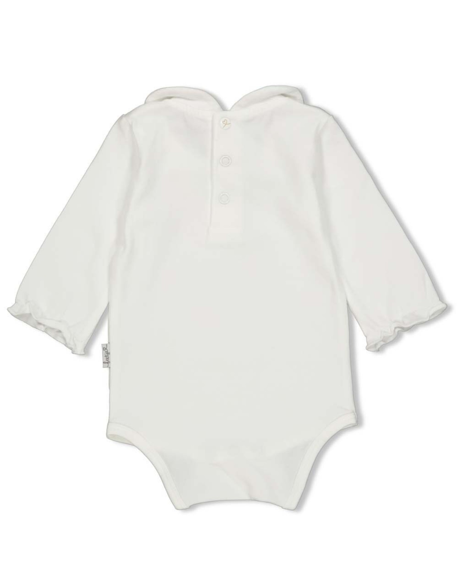 Feetje Romper - Panther Cutie. Offwhite