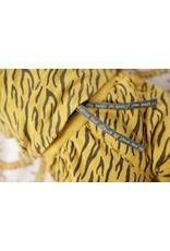 Feetje T-shirt AOP - Go Wild. Okergeel melange