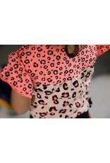 Feetje Singlet - Leopard Love. Roze