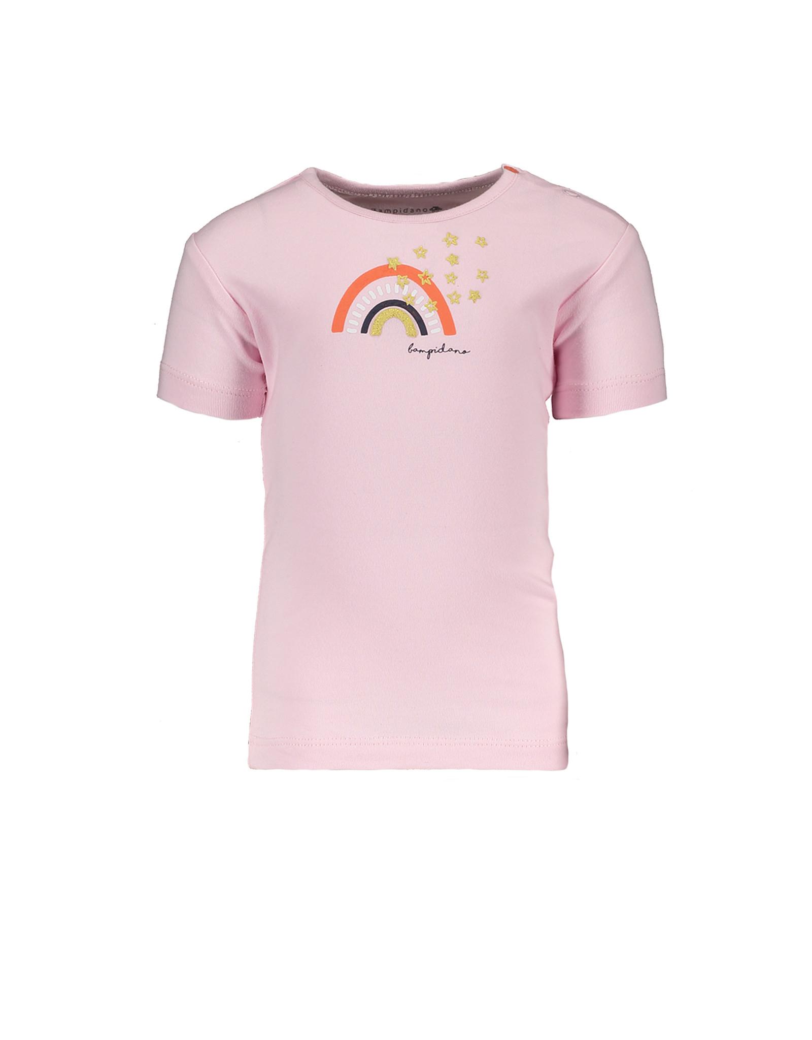 Bampidano Little Bampidano Girls short sleeve T-shirt Dionne plain with print FLOWER