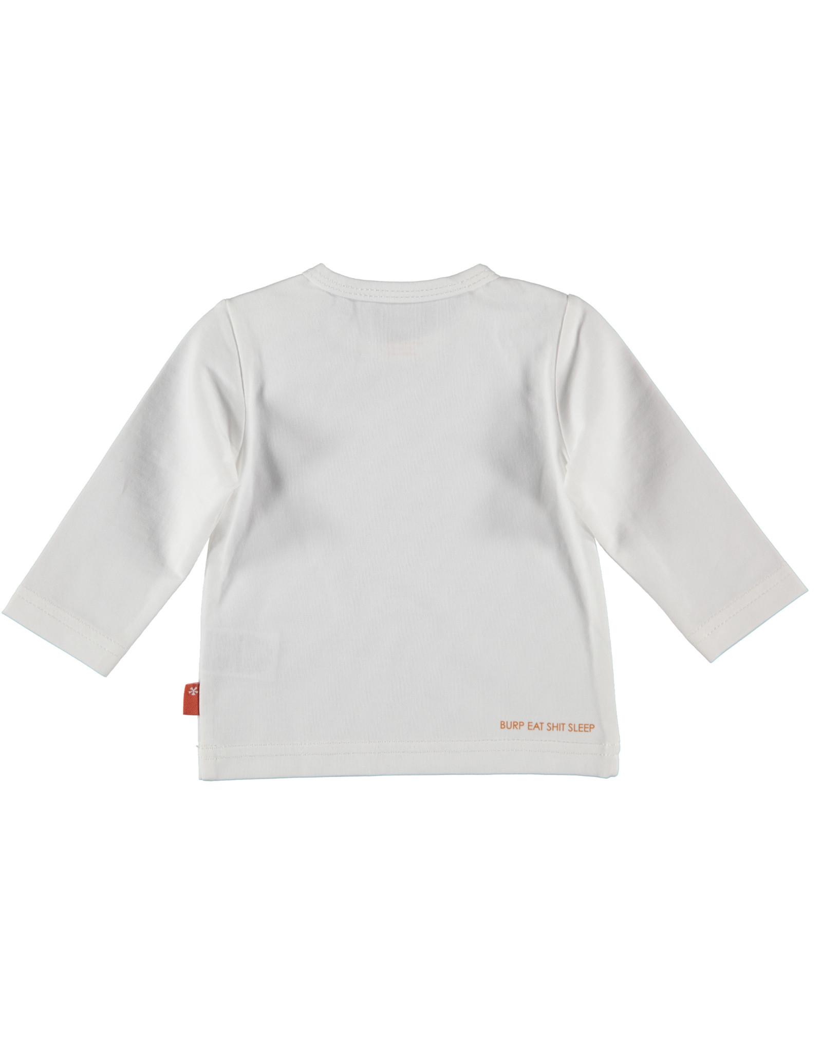 B.E.S.S. Shirt l. sl. Rabbit, White