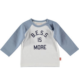 B.E.S.S. Shirt l. sl. BESS is more, White