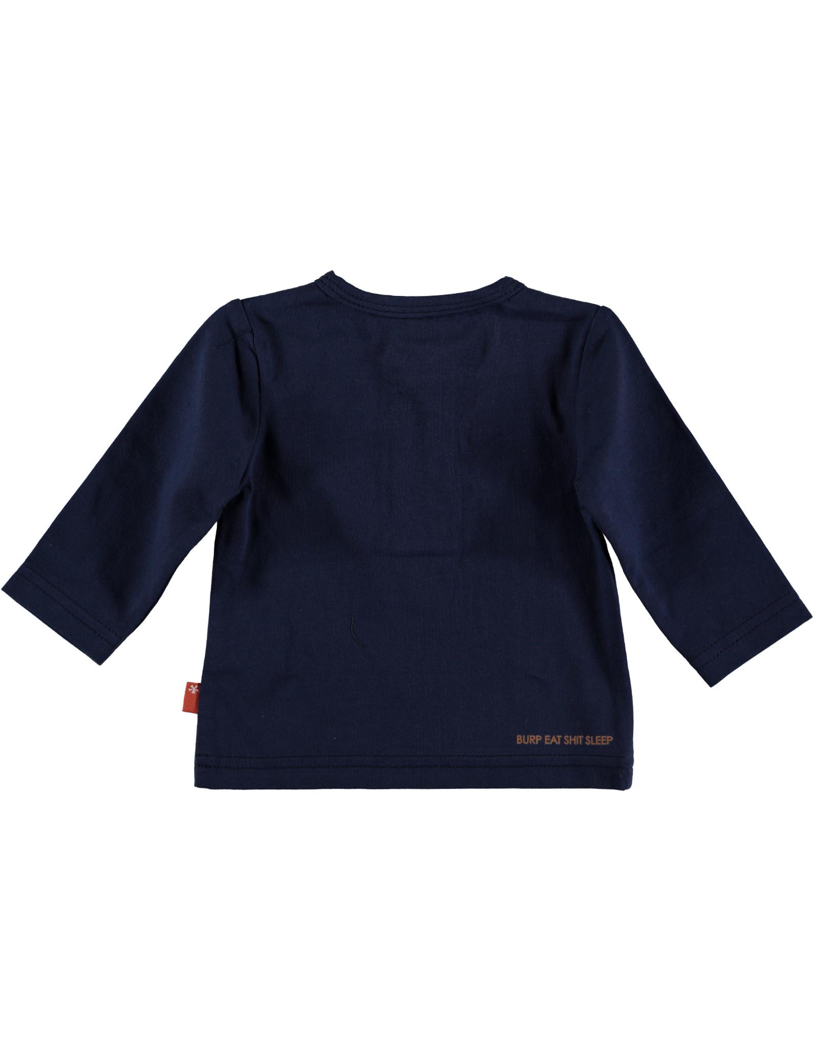B.E.S.S. Shirt l. sl. Okay, Blue