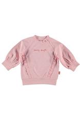 B.E.S.S. Sweater Lovely Days Ruffles, Pink