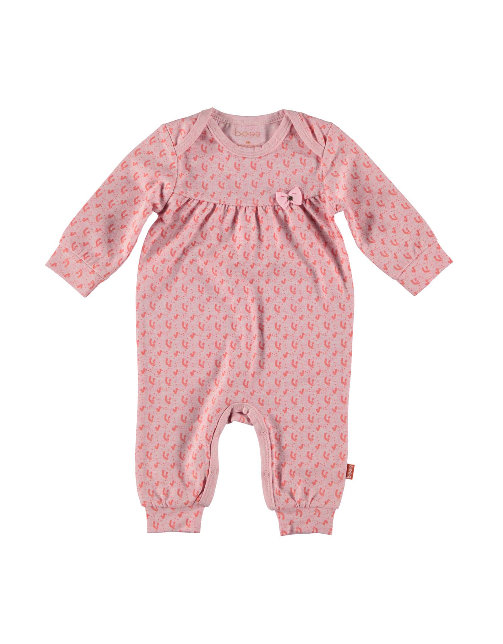 B.E.S.S. Suit AOP Flower, Pink