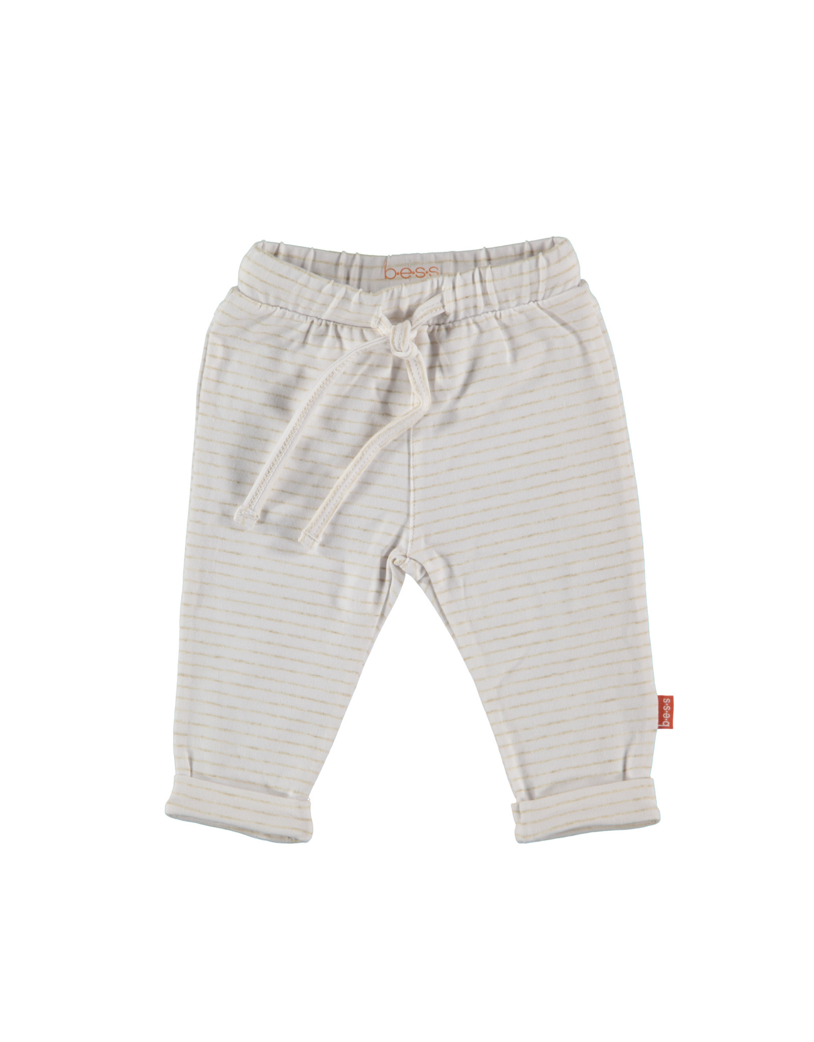 B.E.S.S. Pants Lines, White