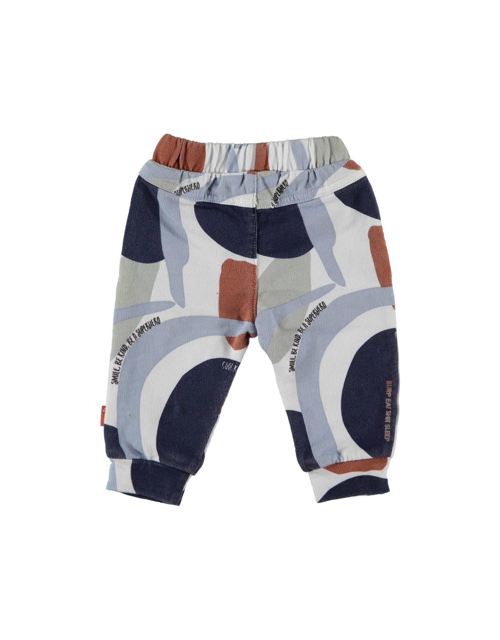 B.E.S.S. Pants AOP Camouflage, Dessin