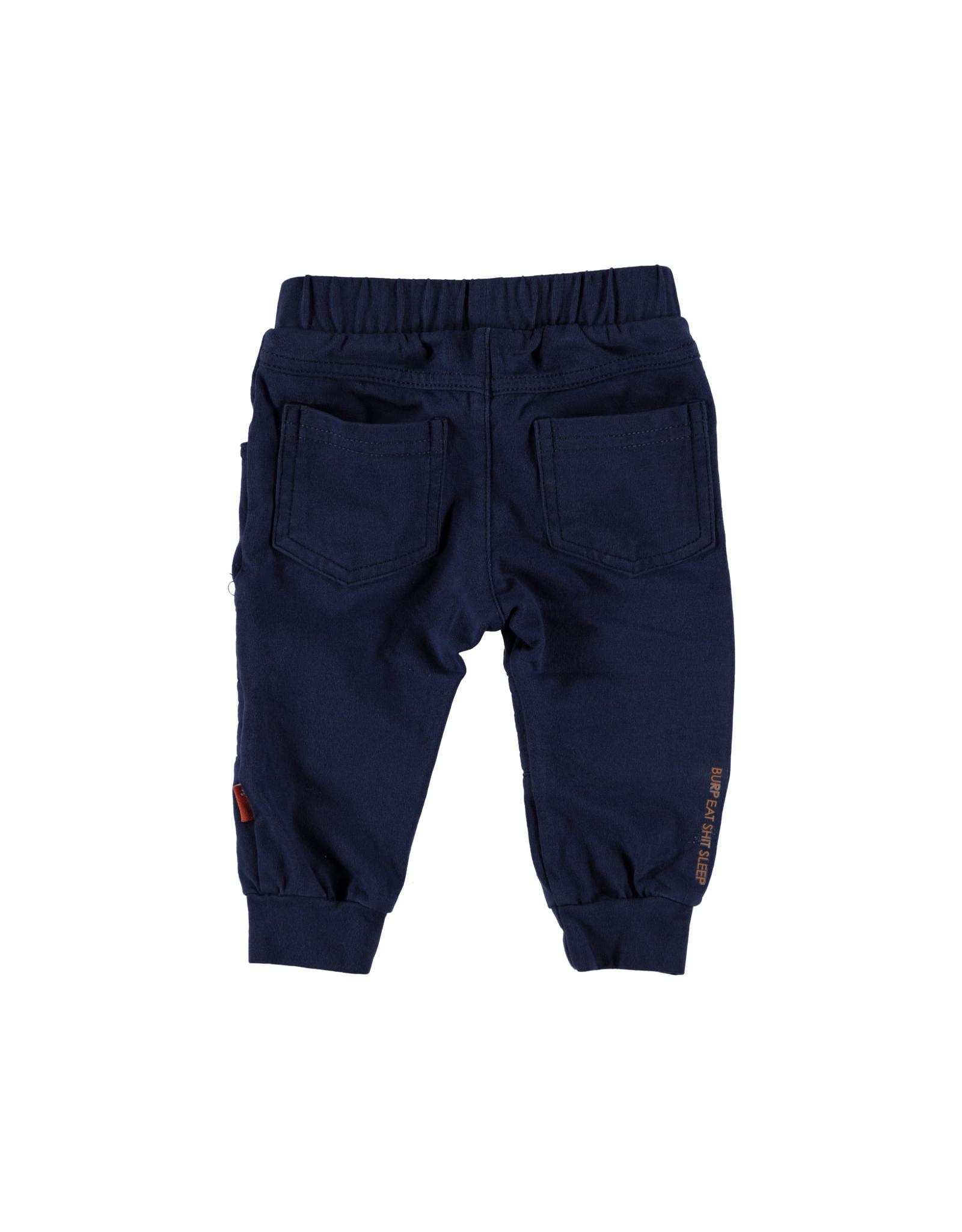 B.E.S.S. Pants Biker, Blue